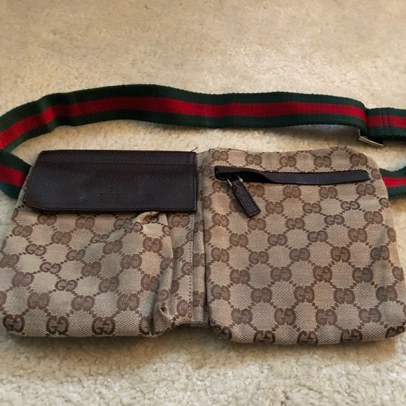 fa94a2ab382 Gucci Handbags - Authentic vintage Gucci fanny pack   waist pouch